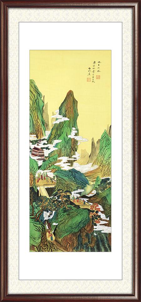 徐瑞明作品《东方仙景(绢本)》尺寸:136㎝×55㎝ 7.2平尺 每平尺:60000元——80000元.png
