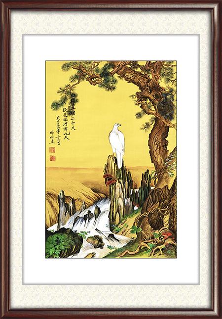 徐瑞明作品《白银从天降(绢本)》尺寸:88.5cmx59cm 4.8平尺 每平尺:60000元——80000元.png