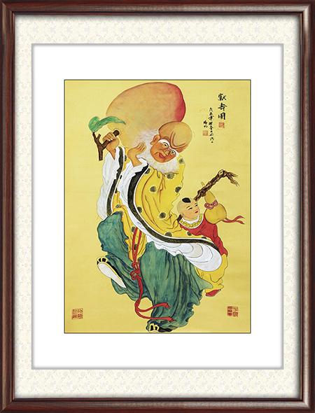 徐瑞明作品《献寿图(绢本)》尺寸:123cmx90.5cm  10.14平尺 每平尺:60000元——80000元.png